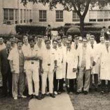 Physicians at John Peter Smith Hospital in 1972